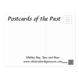 古い郵便はがき- Whitleyの湾、タインアンドウィア州 ポストカード