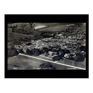 古い郵便はがき- Woodstock、オックスフォードシャー ポストカード