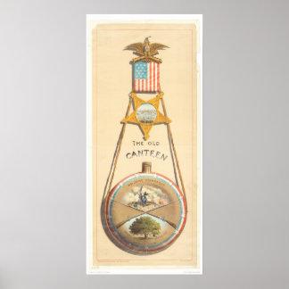 古い酒保(1248A) ポスター