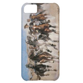古い野生の西のテーマのカルヴァリーのiPhone 5カバー iPhone5Cケース