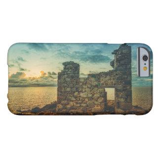古い銅山のIPHONE6ケースの台なし BARELY THERE iPhone 6 ケース