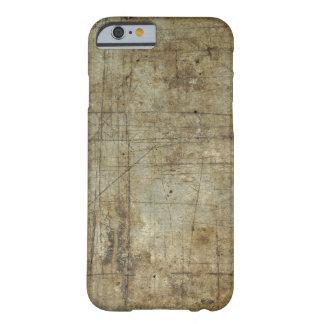 古い鋼鉄プリント BARELY THERE iPhone 6 ケース