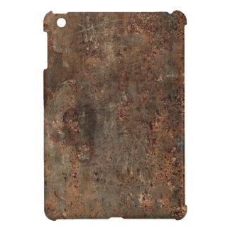 古い革プリント iPad MINIケース