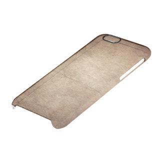 古い革 クリアiPhone 6/6Sケース