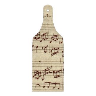 古い音楽ノート- Bach音楽シート カッティングボード