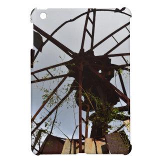 古い風車田園クイーンズランドオーストラリア iPad MINIケース