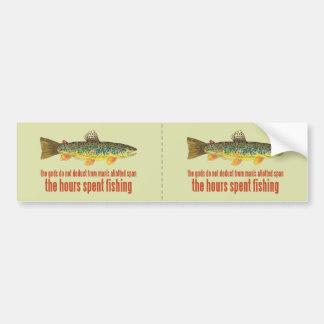 古い魚釣りの発言 バンパーステッカー