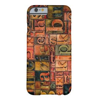 古いanphabetのiPhone6ケース Barely There iPhone 6 ケース