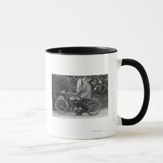 古いB.S.Aの人。 モーターバイク マグカップ