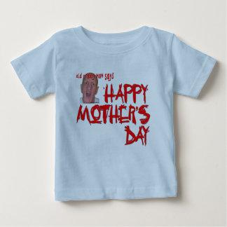 古いCrabby人-母Day2 ベビーTシャツ