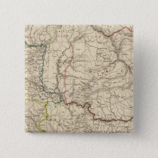 古いDacia、Pannoniaのイリュリア、Moesia 5.1cm 正方形バッジ