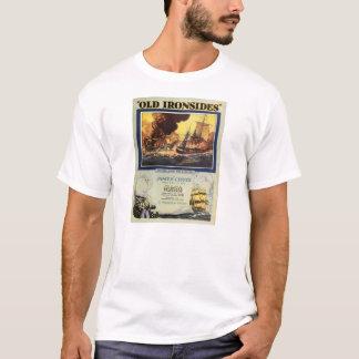「古いIronsides」1926年の無声映画の展示者の広告 Tシャツ
