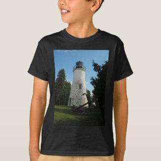 古いPresqueの島の灯台 Tシャツ