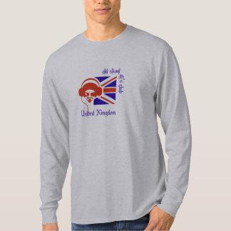 古いsckool djのクラブイギリス tシャツ
