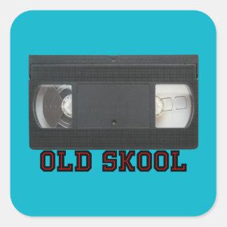 古いSkool - VHSテープ スクエアシール