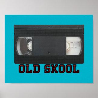古いSkool - VHSテープ ポスター