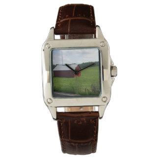 古いTENNESSEの赤 腕時計
