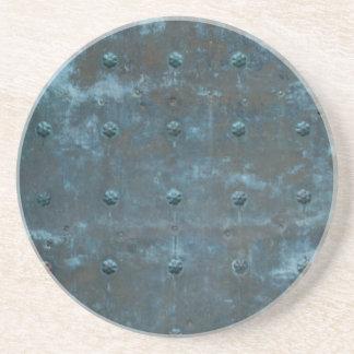 古くスペインのな銅によって変色させる金属のドア コースター