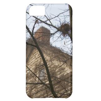 古く及び新しい、鳥の巣及び農家 iPhone5Cケース