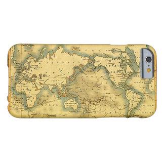 古く旧式な世界地図のiPhone6ケース Barely There iPhone 6 ケース