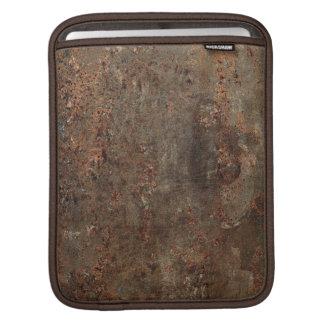 古く汚い革プリント iPadスリーブ