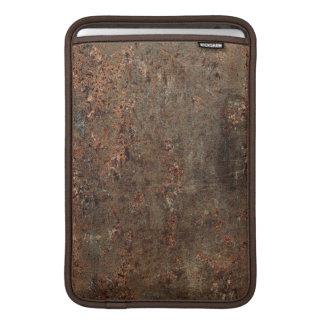 古く汚い革プリント MacBook スリーブ