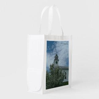 古く自由な会堂の再使用可能な買い物袋 エコバッグ