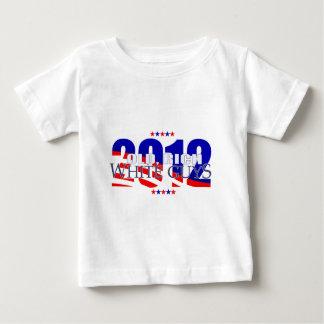 古く豊富な白人の人2012年 ベビーTシャツ