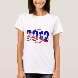 古く豊富な白人の人2012年 Tシャツ