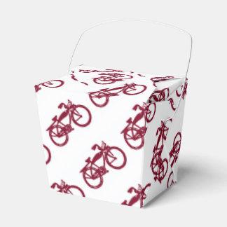 古く赤いバイクの好意箱