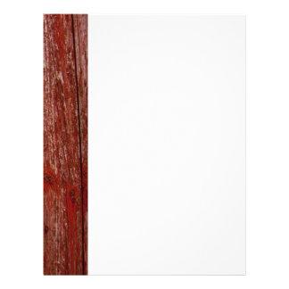 古く赤い木 レターヘッド