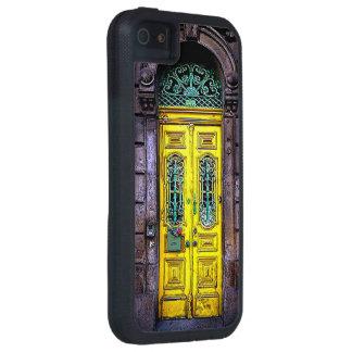 古く黄色いドア iPhone SE/5/5s ケース