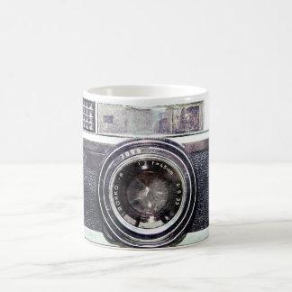 古く黒いカメラ コーヒーマグカップ