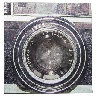 古く黒いカメラ ナプキンクロス