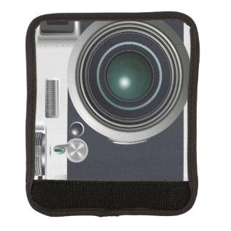 古く黒いカメラ ラゲッジ ハンドルラップ