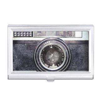 古く黒いカメラ 名刺入れ