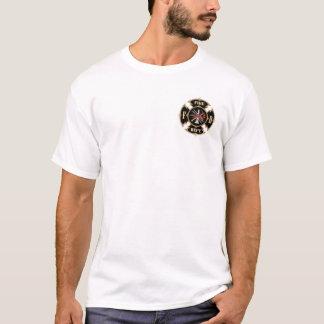 古く、新しいアメリカの消防士- Tシャツ