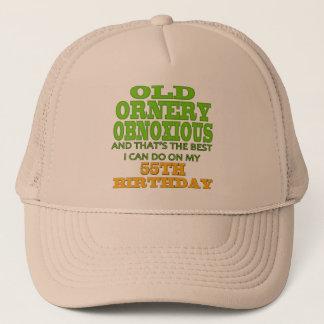 古く、Ornery第55誕生日プレゼント キャップ