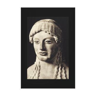 古さのおおわれていた女性Statue', Greek_Art キャンバスプリント