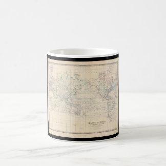 古さの旧世界の地図2_Maps コーヒーマグカップ