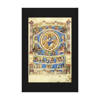 古さのGod', St. Vitus_Artの都市 キャンバスプリント