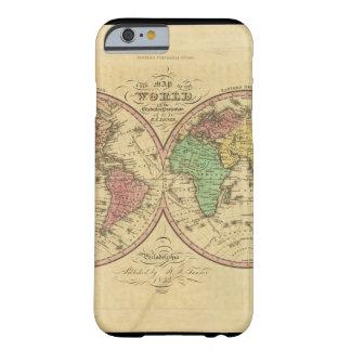 古さ1からの世界地図 BARELY THERE iPhone 6 ケース