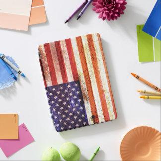 古めかしい米国旗 iPad AIR カバー