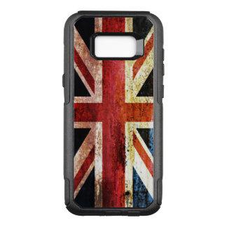 古めかしい英国国旗 オッターボックスコミューターSamsung GALAXY S8+ ケース