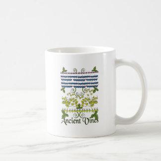 古代つる植物 コーヒーマグカップ