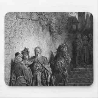 「古代の霜の開始場面 マウスパッド