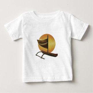古代アウトリガー ベビーTシャツ