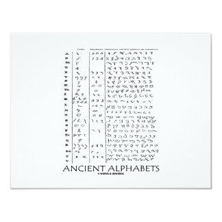 古代アルファベット カード
