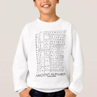 古代アルファベット スウェットシャツ