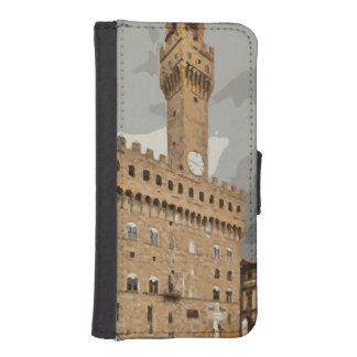 古代イタリアンな教会および建物 iPhoneSE/5/5sウォレットケース